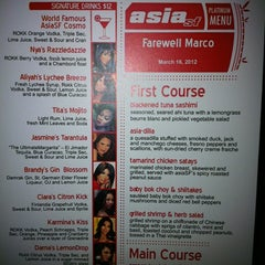 Photo taken at Asia SF by Chris M. on 3/17/2012