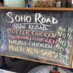 Photo taken at Soho Road Naan Kebab by Liliana W. on 7/27/2012