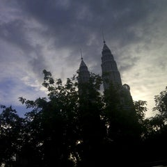 Photo taken at Kuala Lumpur City Centre (KLCC) Park by Chael S. on 9/13/2012