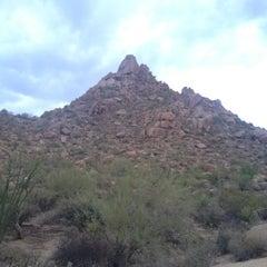 Photo taken at Pinnacle Peak Park by Becca @GritsGal on 7/28/2012