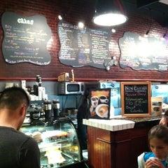 Photo taken at J.P. Licks Coolidge Corner by Lara W. on 6/25/2012