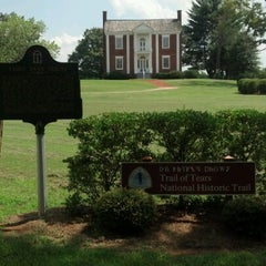 Photo taken at Vann House Historic Site by Rodney W. on 7/28/2012