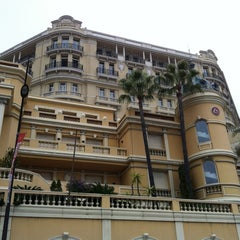 Photo taken at Hôtel Hermitage Monte-Carlo by Mike W. on 3/31/2012