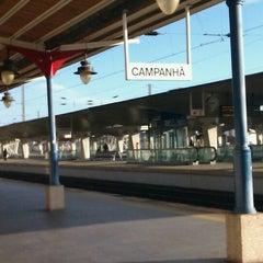 Photo taken at Estação Ferroviária de Porto-Campanhã by Nelson P. on 11/5/2011