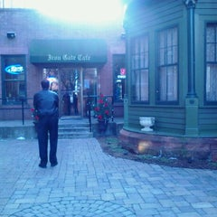 Photo taken at Iron Gate Cafe by Lauren Z. on 1/19/2012