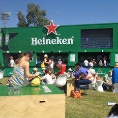 Photo taken at Heineken Beer Garden by Jeremy K. on 1/18/2012