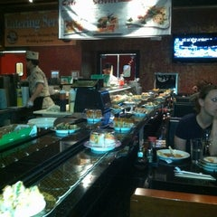 Photo taken at Kiku Japanese Steak & Sushi by Matthew F. on 4/4/2012