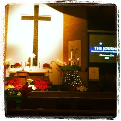 Photo taken at St. Peters. United Methodist Church by Courtney L. on 12/25/2011