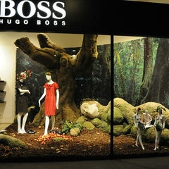 Photo taken at BOSS Store by Yusri Echman on 8/11/2012
