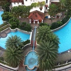 Photo taken at Swimming Pool, Pantai Hill Park by Kiran K. on 1/19/2011