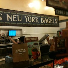 Photo taken at Noah's New York Bagels by Ron B. on 9/30/2011