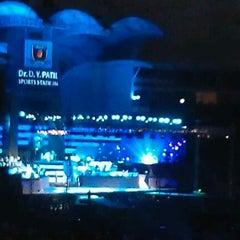 Photo taken at Dr. DY Patil Stadium (डा. डी. वाय. पाटील स्टेडीयम) by Dany C. on 5/26/2012