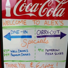 Photo taken at Alex's Pizzeria & Bar by Adam G. on 7/19/2011