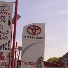 Photo taken at Route 22 Toyota Service by Jacques T. on 4/20/2012