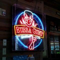 Photo taken at Bubba Gump Shrimp Co. by Scott G. on 6/3/2012