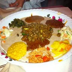 Photo taken at Meaza Restaurant & Market by Mileska R. on 3/16/2012