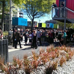 Photo taken at Cashel Mall Re:START by Nicola S. on 10/29/2011