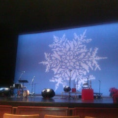 Photo taken at Rose Wagner Performing Arts Center by Kjersti g. on 12/16/2011