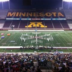 Photo taken at TCF Bank Stadium by Joshua C. on 7/15/2012