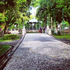 Photo taken at Praça Batista Campos by Livia S. on 9/2/2012
