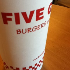 Photo taken at Five Guys by Nels H. on 3/22/2012