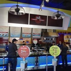Photo taken at Cafe Zupas by Ben B. on 4/17/2012