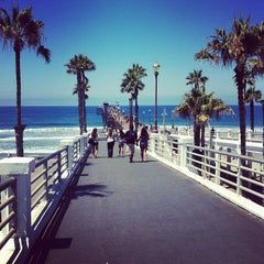 Photo taken at Oceanside Pier by Mike W. on 7/29/2012