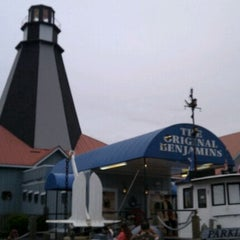 Photo taken at The Original Benjamin's Calabash Seafood by Charla W. on 9/16/2011