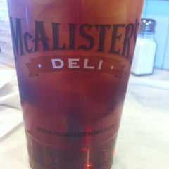 Photo taken at McAlister's Deli by Jessica K. on 7/9/2012