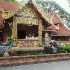 Photo taken at วัดชัยมงคล (Wat Chai Mongkol) by Linjong T. on 6/10/2012