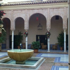 Photo taken at Hotel Parador de Carmona by Mister RICK M. on 12/11/2011