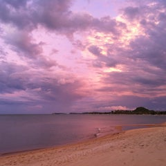 Photo taken at Maenamburi Resort by Kris P. on 6/10/2012