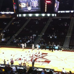 Photo taken at Reed Arena by E G. on 2/18/2012
