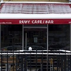 Photo taken at Ruby by Nacho M. on 12/21/2010