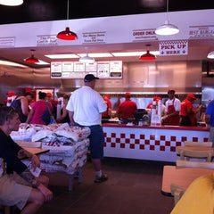 Photo taken at Five Guys by Nathan M. on 7/18/2011