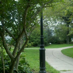 Photo taken at Wilcox Park by Beth V. on 9/24/2011