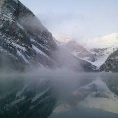 Photo taken at Lake Louise by Timothy on 11/5/2011