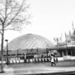 Photo taken at Station Porte de Versailles [T2,T3a] by emmanuel e. on 3/14/2012