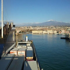 Photo taken at Porto di Catania by Luca Z. on 12/8/2011