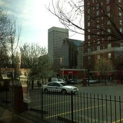 Photo taken at Megabus Stop Providence by Sang Eun L. on 3/24/2012