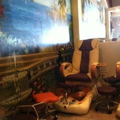 Photo taken at Venus Nails & Spa by Tiffany B. on 10/16/2011