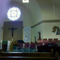 Photo taken at Sacred Heart Church by Paul J. on 11/6/2011