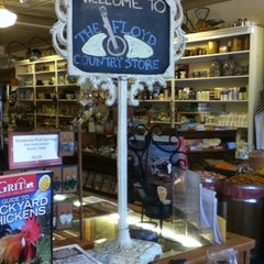 Photo taken at Floyd Country Store by Jennifer W. on 1/29/2011