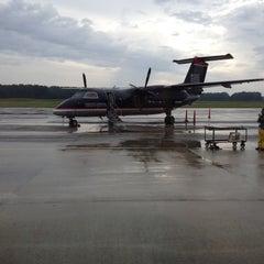 Photo taken at Salisbury-Ocean City: Wicomico Regional Airport (SBY) by Henry H. on 8/25/2012