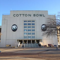 Photo taken at Cotton Bowl by Randall P. on 1/2/2012