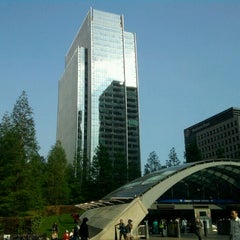 Photo taken at Canary Wharf by Keith F. on 6/22/2011