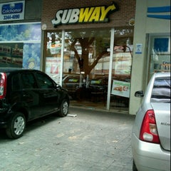 Photo taken at Subway by Eric d. on 12/27/2011