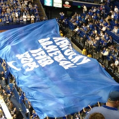 Photo taken at Rupp Arena by Natalie on 11/8/2011