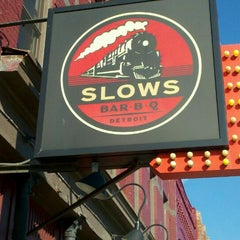 Photo taken at Slows Bar-B-Q by Gumby on 10/8/2011