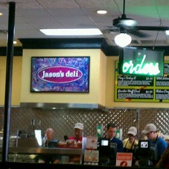 Photo taken at Jason's Deli by Kevin O. on 8/21/2011